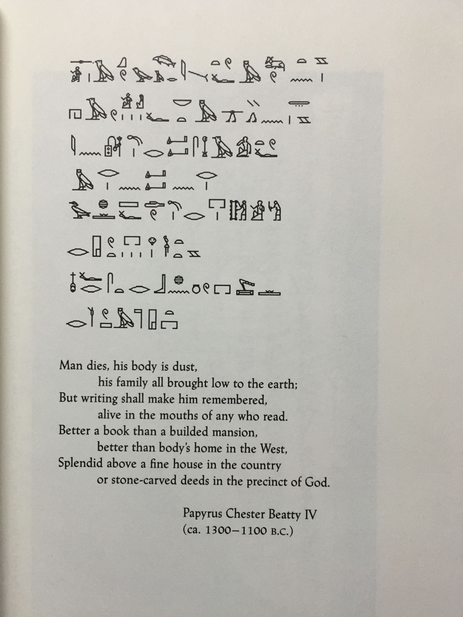 egyptian poetry Show the reader that egyptian religious poetry had in it some- thing closely akin  to our own, that to these ancient people god showed himself as a god of love.