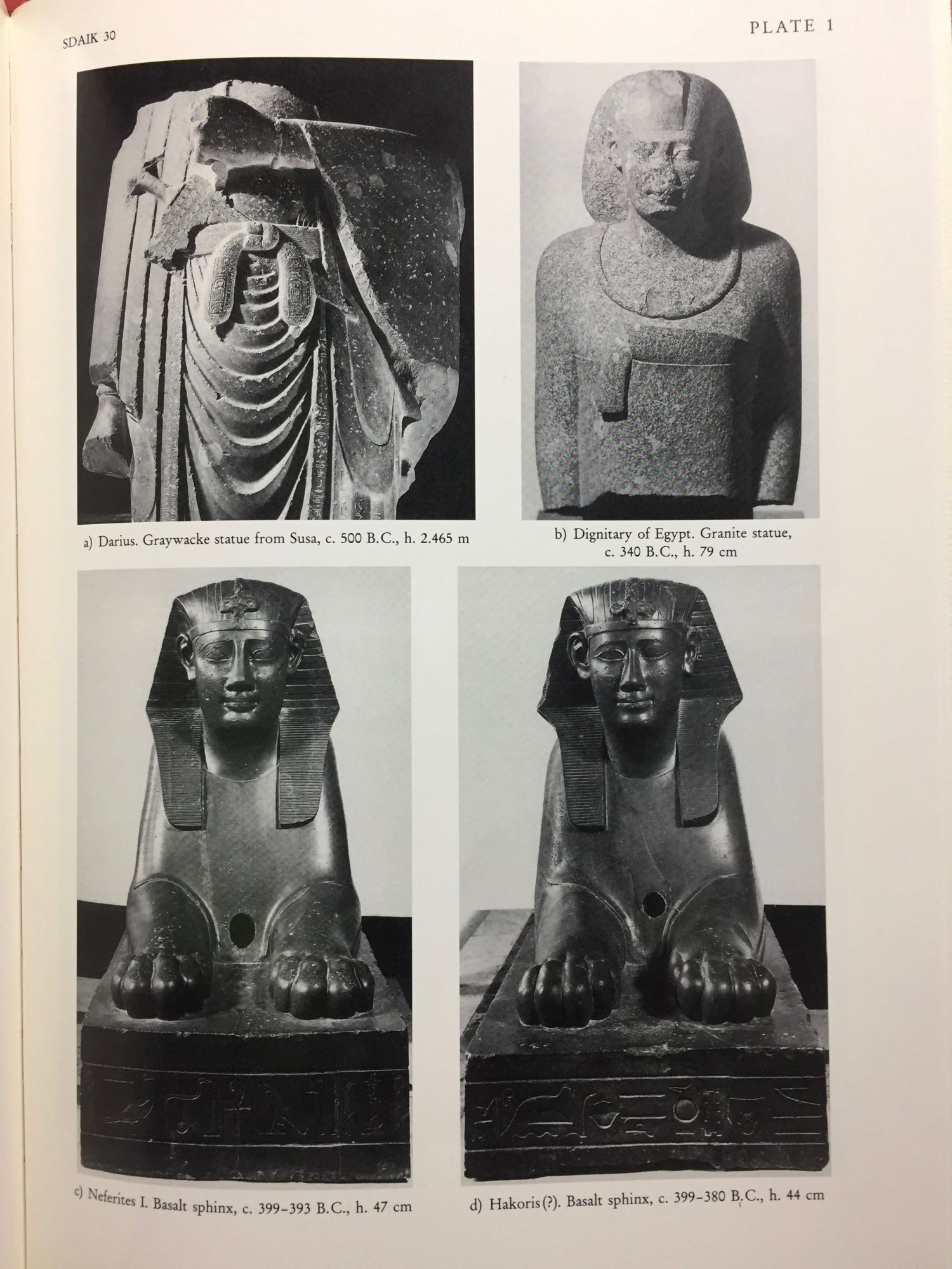 Egyptian royal sculpture of the Late Period 400-246 B C  by JOSEPHSON Jack  A  on Meretseger Books