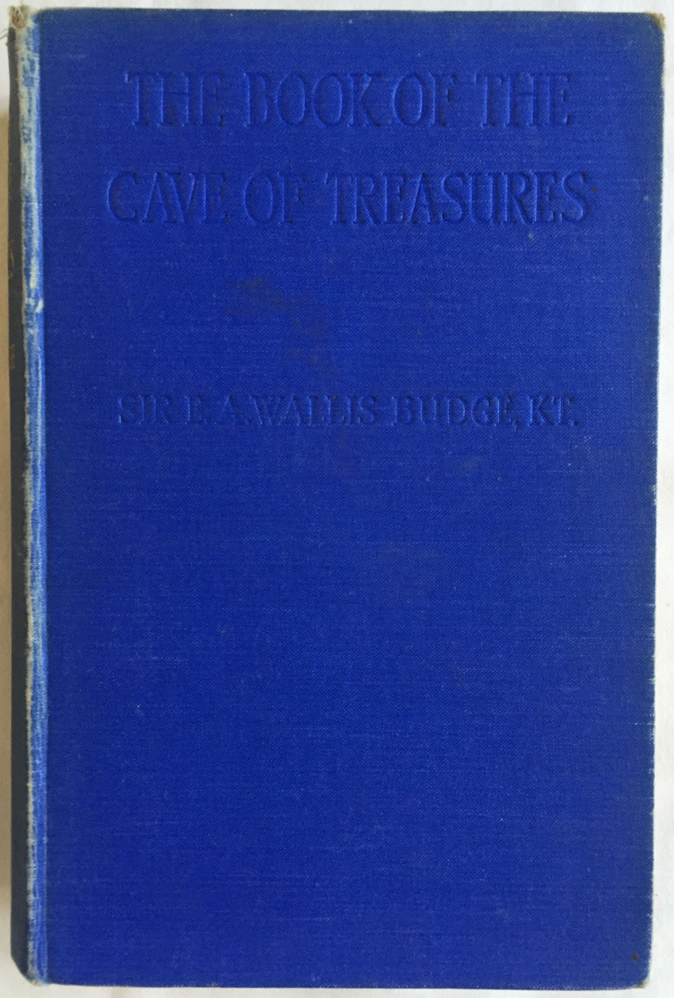 Book of Cave of Treasures Budge