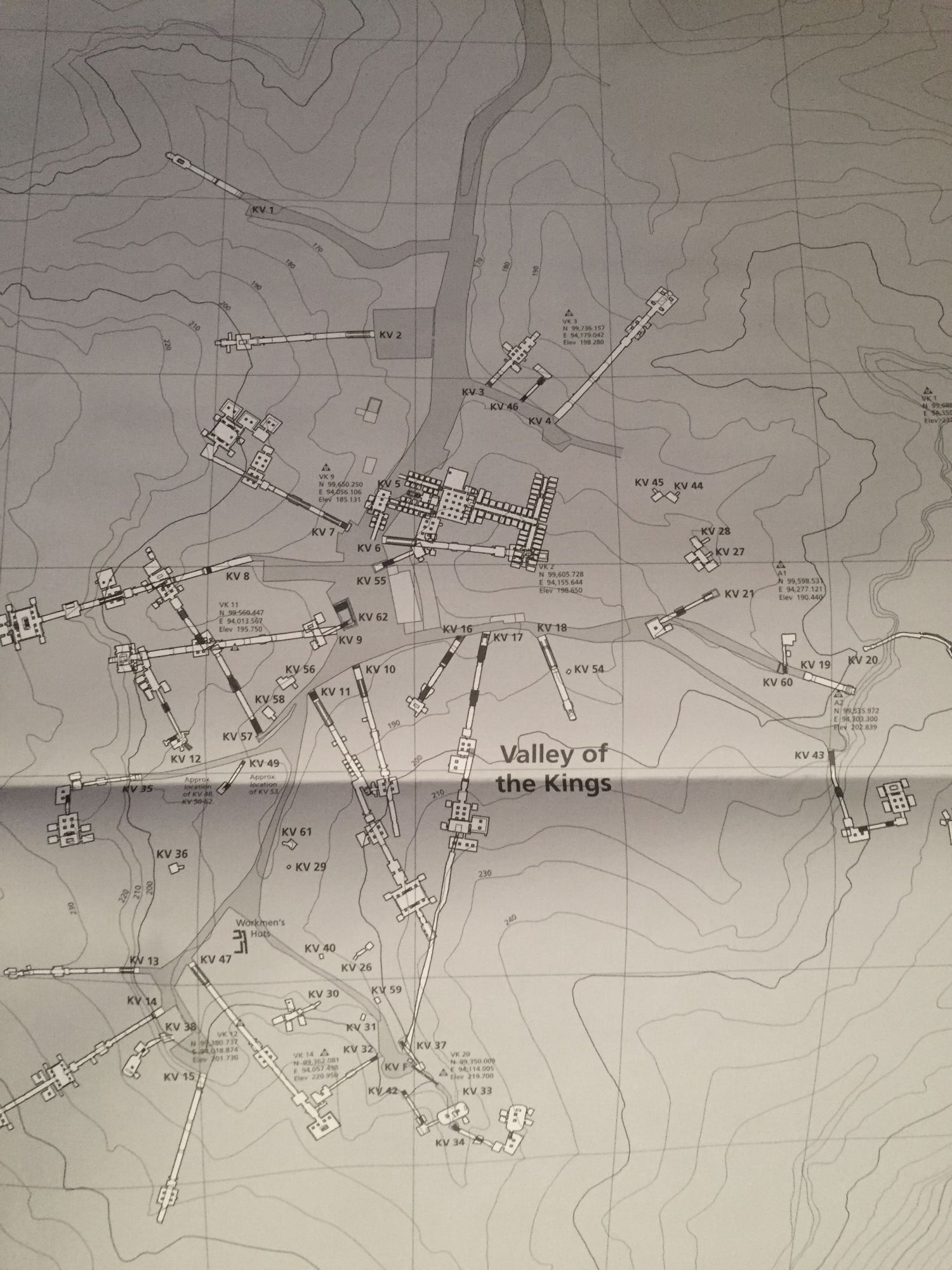 atlas of the valley of the kings the theban mapping project part
