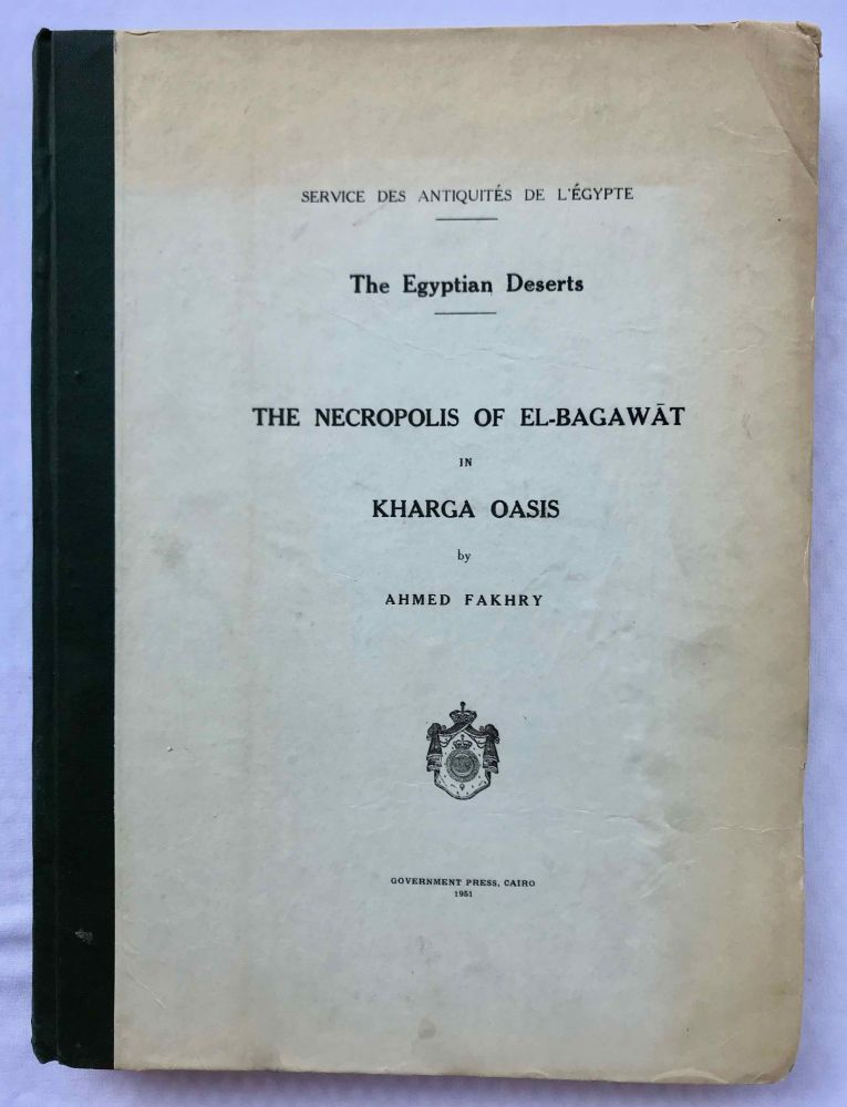The necropolis of el-Bagawat in Kharga oasis. FAKHRY Ahmed.[newline]M0561c.jpg