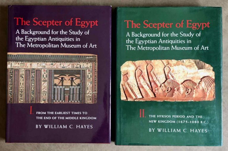The scepter of Egypt. Vol. I: From the Earliest Times to the End of the Middle Kingdom. Vol. II: The Hyksos Period and the New Kingdom (1675–1080 B.C.) (complete set). HAYES William Christopher.[newline]M0771.jpeg