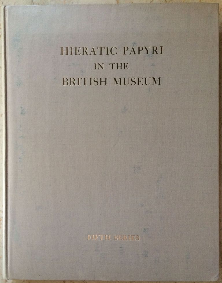 The Abu Sir papyri. Edited, together with Complementary Texts in other collections. POSENER-KRIEGER Paule - CENIVAL Jean-Louis.[newline]M1382b-00.jpg