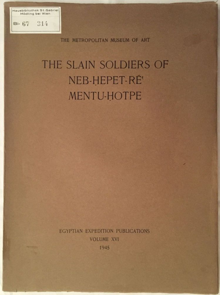 The Slain Soldiers of Neb-Hepet-Re' Mentu-Hotpe. WINLOCK Herbert E.[newline]M1828b.jpg