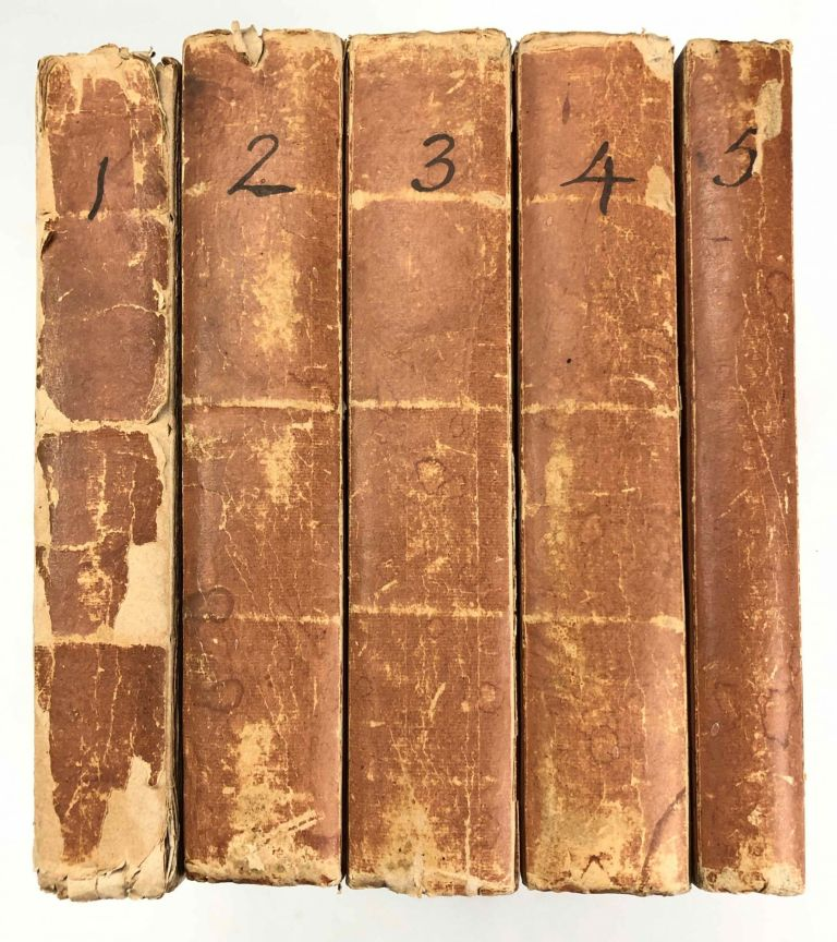 Travels to Discover the Source of the Nile, in the Years 1768, 1769, 1770, 1771, 1772, & 1773 (5 volumes, complete set). BRUCE James of Kincaird.[newline]M1913-000.jpg