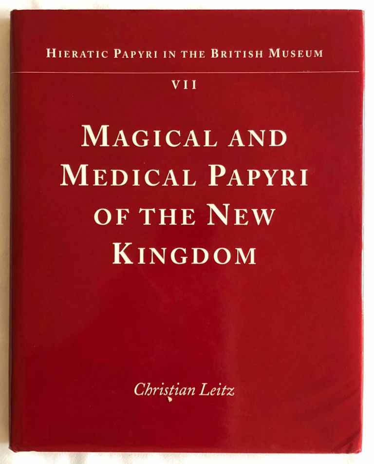 Magical and Medical Papyri of the New Kingdom. LEITZ Christian.[newline]M2073a.jpg