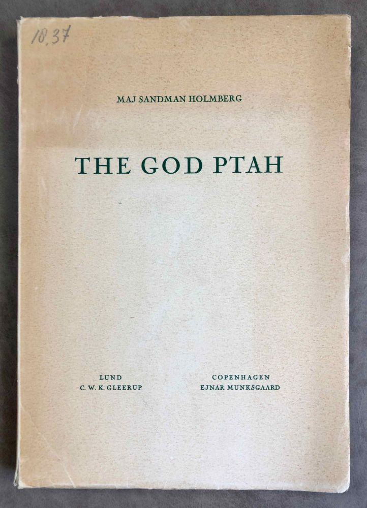 The God Ptah. SANDMAN HOLMBERG Maj.[newline]M2105b.jpeg
