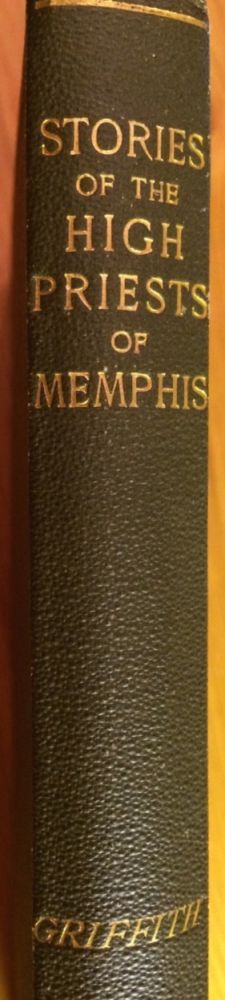 Stories of the High Priests of Memphis: The Sethon of Herodotus and The Demotic Tales of Khamuas. GRIFFITH Francis Llewellyn T.[newline]M2431a.jpg
