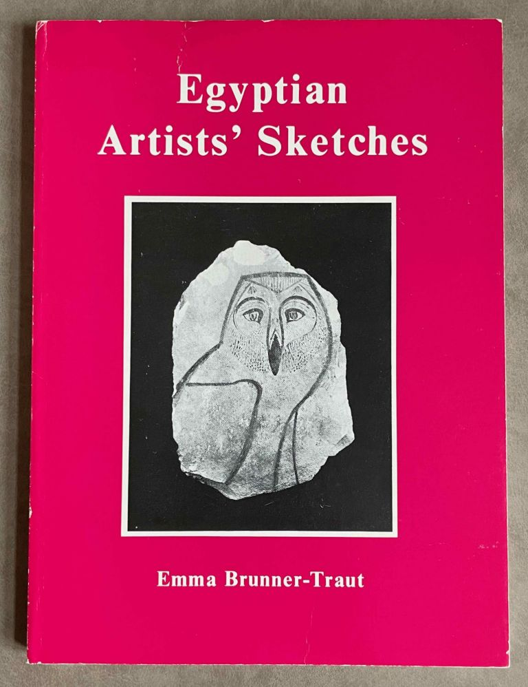Egyptian Artists' Sketches. Figured ostraka from the Gayer-Anderson Collection in the Fitzwilliam Museum, Cambridge. BRUNNER-TRAUT Emma.[newline]M2586b-00.jpeg
