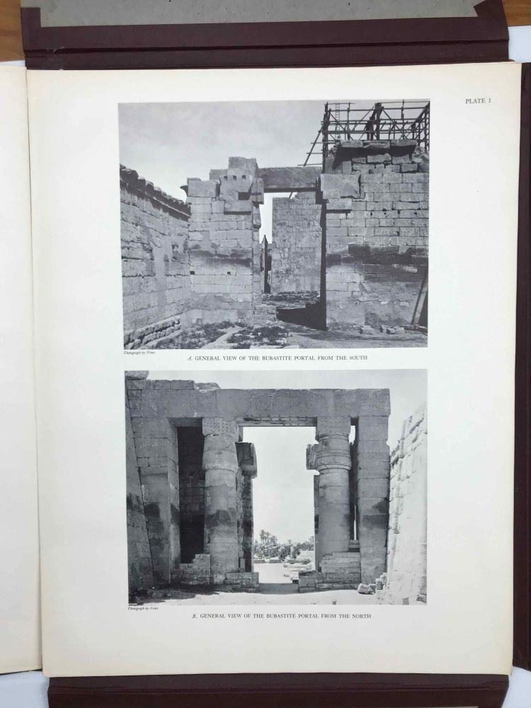 Reliefs and inscriptions at Karnak III. The bubastite portal (The epigraphic Survey). AAD - Chicago Institute.[newline]M3102g.jpeg