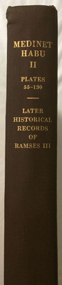 Medinet Habu. The Epigraphic survey. Vol. II: The Later Historical Records of Ramses III. AAD - Chicago Institute.[newline]M3524c.jpg