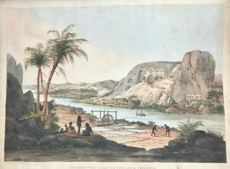 Plates illustrative of the researches and operations of G. Belzoni in Egypt and Nubia. BELZONI Giovanni Battista.[newline]M3609b.jpeg