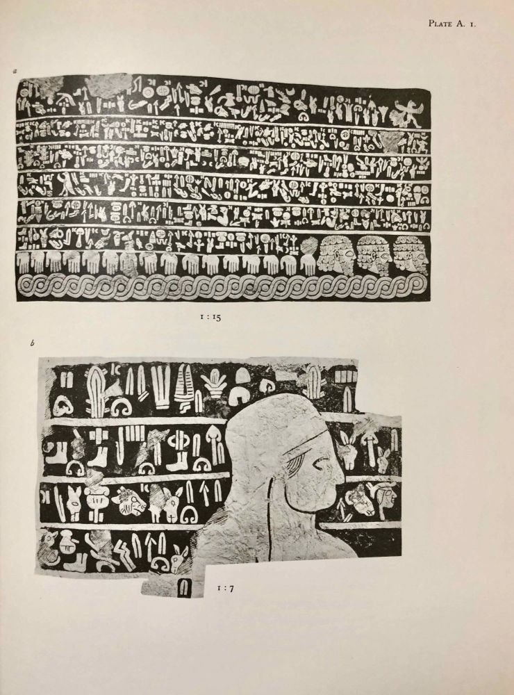 Carchemish. Report on the Excavations at Jerablus on Behalf of the British Museum. Vol. I: Introductory. Vol. II: The town defences. Vol. III: The excavations in the inner town. The Hittite inscriptions (complete set). HOGARTH D. G. - WOOLLEY Charles Leonard - BARNETT R. D.[newline]M4399e.jpg