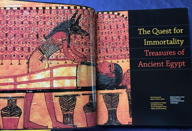 The Quest for Immortality: Treasures of Ancient Egypt. BRYAN Betsy - HORNUNG Erik.[newline]M4564.jpg