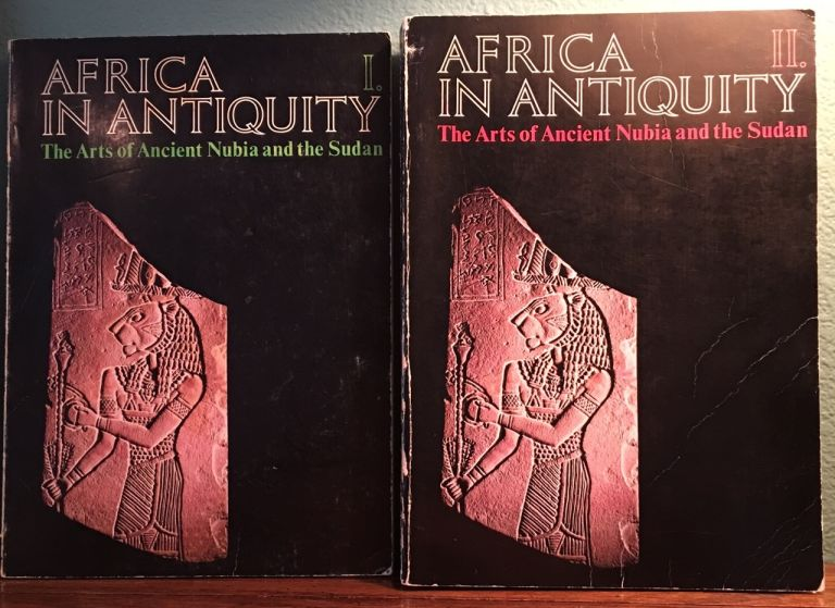 Africa in Antiquity: The Arts of Ancient Nubia and the Sudan. 2 volumes (complete set). AAC - Catalogue exhibition.[newline]M4625.jpg