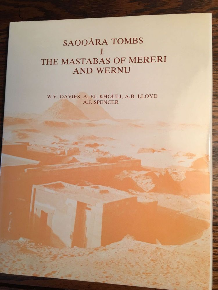 Saqqara Tombs, I: The Mastabas of Mereri and Wernu. DAVIES William Vivian - EL-KHOULY - LLOYD A. B. - SPENCER A. J.[newline]M4650.jpg