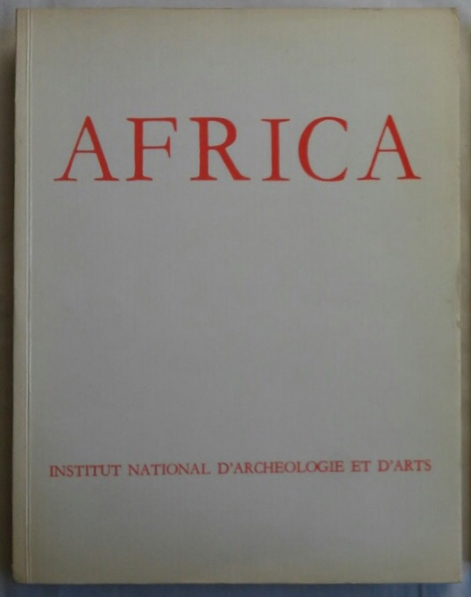 Africa. Fouilles, monuments et collections archéologiques en Tunisie. Tome II. 1967-1968. AAE - Journal - Single issue.[newline]M5906.jpg