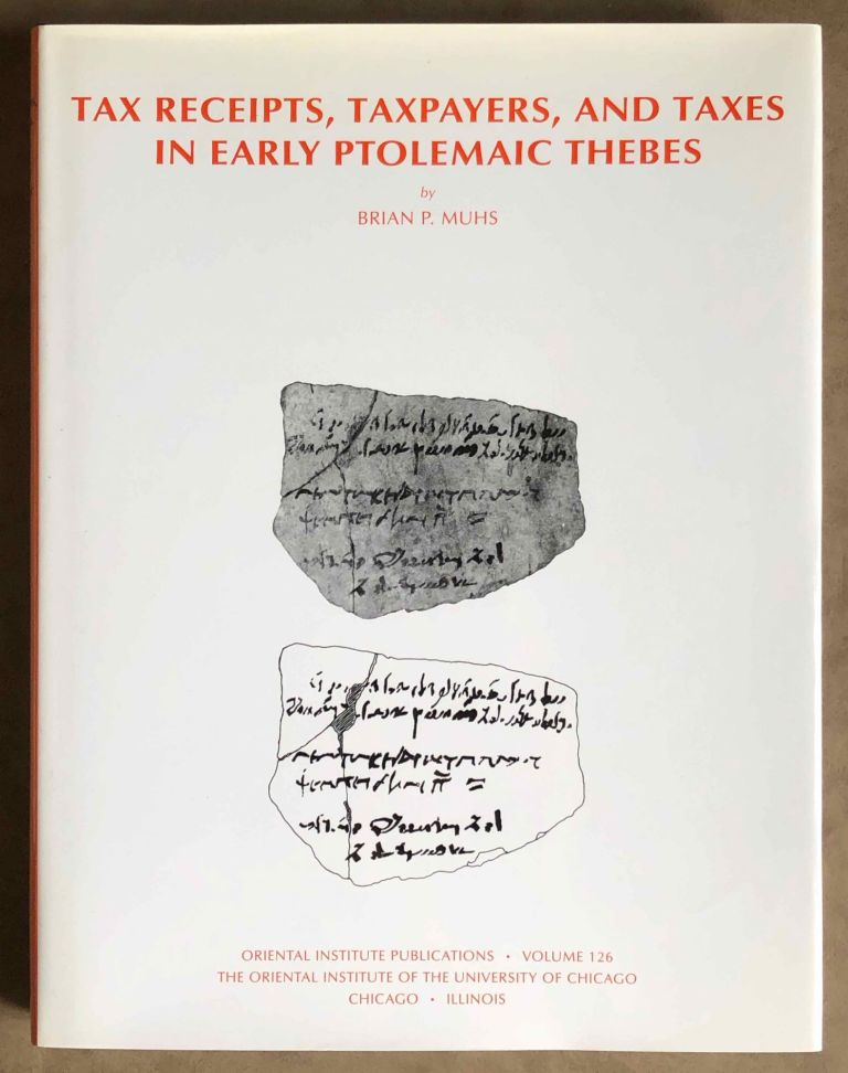 Taxes, Taxpayers and Tax Receipts in Early Ptolemaic Thebes. MUHS Bryan.[newline]M7111.jpg