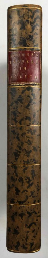 Travels in Africa, Egypt, and Syria, from the year 1792 to 1798. BROWNE William George.[newline]M7223.jpg