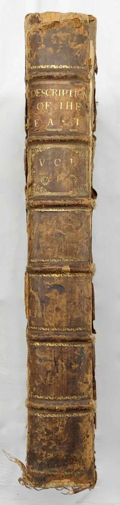 Description of the East and Some Other Countries. Vol. I: Observations on Egypt. POCOCKE Richard.[newline]M7225a.jpg