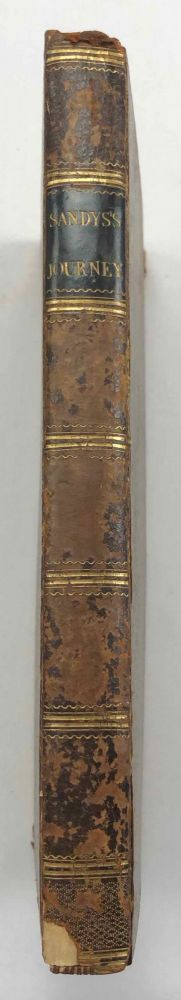 A Relation of a Journey Begun An. Dom. 1610. Foure Bookes. Containing a Description of the Turkish Empire, of Aegypt, of the Holy Land, of the Remote parts of Italy, and ilands adjoyning. SANDYS George.[newline]M7232.jpg