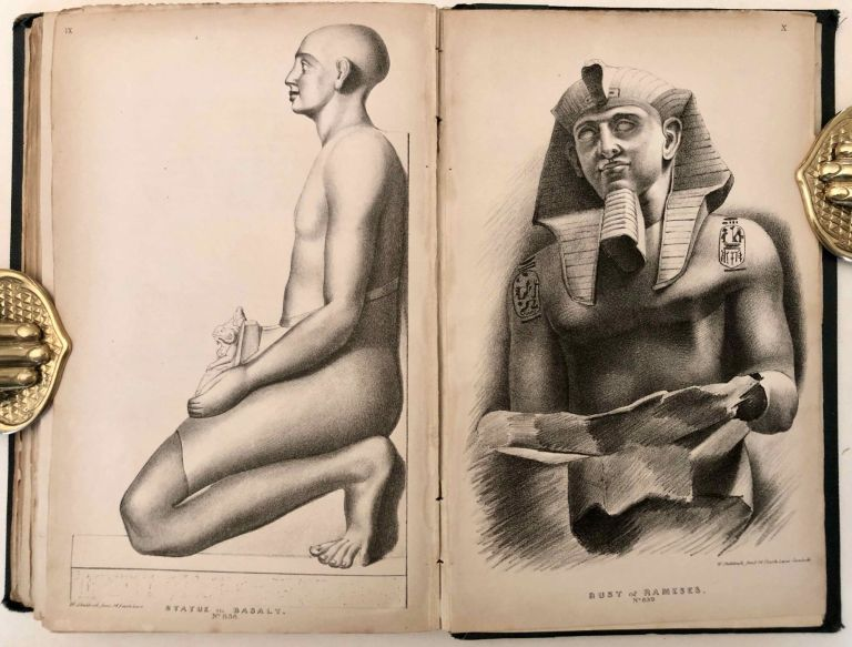 A Brief Account of the Researches and Discoveries in Upper Egypt Made Under the Direction of Henry Salt. To which is added a detailed catalogue of Mr. Salt's collection of Egyptian antiquities, illustrated with twelve engravings of some of the most interesting objects, and an enumeration of those articles purchased for the British Museum. ATHANASI Giovanni, d'.[newline]M7233-000.jpg