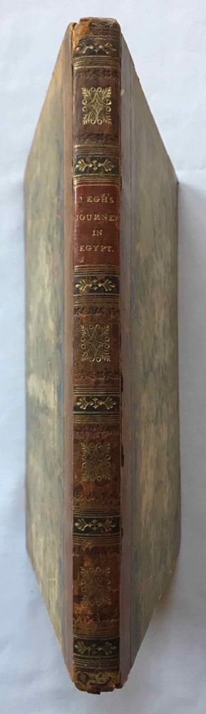 Narrative of a Journey in Egypt. LEGH Thomas.[newline]M7259.jpg