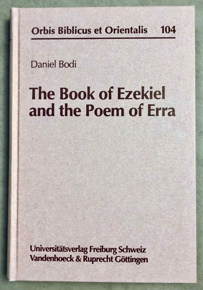 The Book of Ezekiel and the Poem of Erra. BODI Daniel.[newline]M7900-00.jpeg