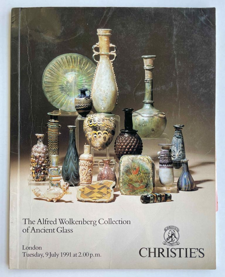Christie's Auction Catalogue: The Alfred Wolkenberg Collection of Ancient Glass. Tuesday,9 July, 1991. AAB - Catalogue auction.[newline]M8286-00.jpeg