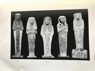 Funerary statuettes and model sarcophagi. Fasc. 1, 2 & 3 (complete set). Catalogue Général du Musée du Caire.[newline]C0083b-11.jpg