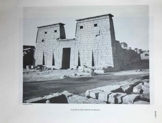 Temple of Khonsu. Vol. I: Scenes of King Herihor in the court. Vol. II: Scenes and inscriptions in the court and the first hypostyle hall (complete set)[newline]M0018c-05.jpeg
