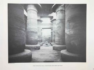Temple of Khonsu. Vol. I: Scenes of King Herihor in the court. Vol. II: Scenes and inscriptions in the court and the first hypostyle hall (complete set)[newline]M0018c-17.jpeg