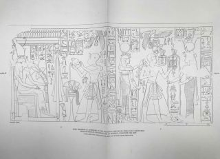 Temple of Khonsu. Vol. I: Scenes of King Herihor in the court. Vol. II: Scenes and inscriptions in the court and the first hypostyle hall (complete set)[newline]M0018e-04.jpeg