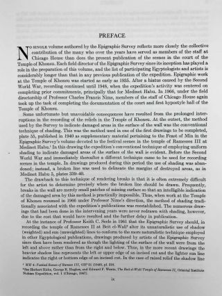 Temple of Khonsu. Vol. I: Scenes of King Herihor in the court. Vol. II: Scenes and inscriptions in the court and the first hypostyle hall (complete set)[newline]M0018e-07.jpeg