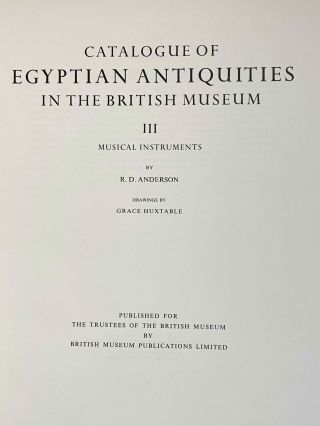 Catalogue of Egyptian Antiquities in the British Museum. Vol. III: Musical instruments[newline]M0078-02.jpeg
