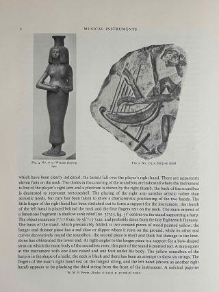 Catalogue of Egyptian Antiquities in the British Museum. Vol. III: Musical instruments[newline]M0078-07.jpeg