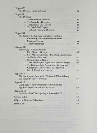 The south cemeteries of Lisht. Vol. I: the pyramid of Senwosret I. Vol. II: The control notes and team marks. Vol. III: the pyramid complex of Senwosret I (complete set)[newline]M0092-04.jpeg