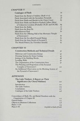 The south cemeteries of Lisht. Vol. I: the pyramid of Senwosret I. Vol. II: The control notes and team marks. Vol. III: the pyramid complex of Senwosret I (complete set)[newline]M0092-26.jpeg