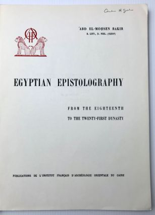 Egyptian epistolography from the 18th to the 21st dynasty[newline]M0105c-02.jpg
