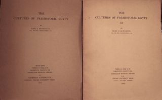 The cultures of prehistoric Egypt. Vol. I & II (complete set). BAUMGARTEL Elise[newline]M0120.jpg