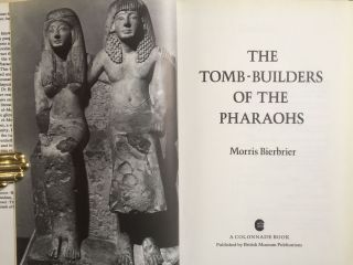 The tomb-builders of the pharaohs[newline]M0136a-01.jpg
