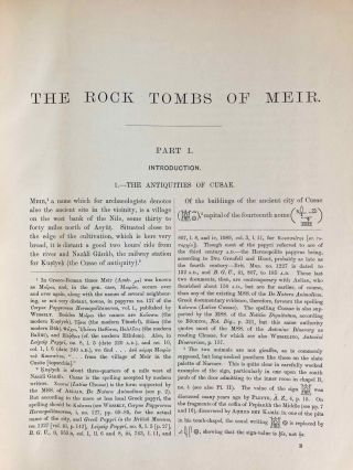 The rock tombs of Meir. Part I-VI (complete set)[newline]M0154a-06.jpg