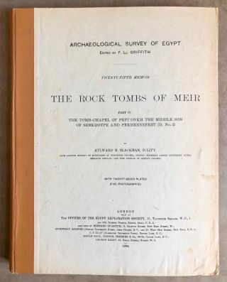 The rock tombs of Meir. Part I-VI (complete set)[newline]M0154a-29.jpg