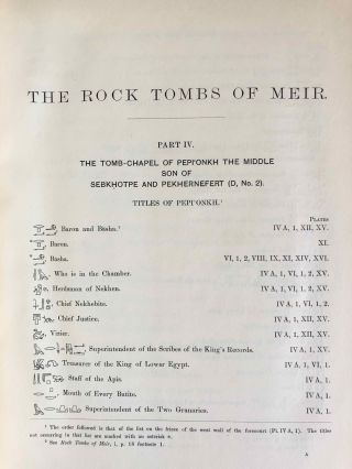 The rock tombs of Meir. Part I-VI (complete set)[newline]M0154a-32.jpg