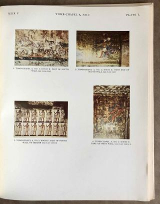 The rock tombs of Meir. Part I-VI (complete set)[newline]M0154a-45.jpg