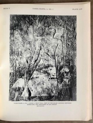 The rock tombs of Meir. Part I-VI (complete set)[newline]M0154a-46.jpg