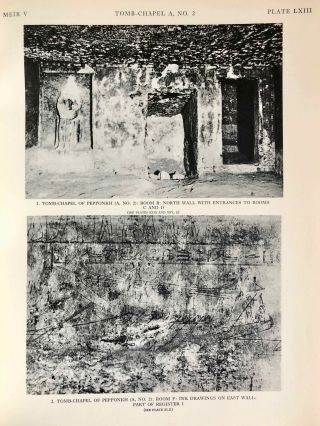 The rock tombs of Meir. Part I-VI (complete set)[newline]M0154a-47.jpg
