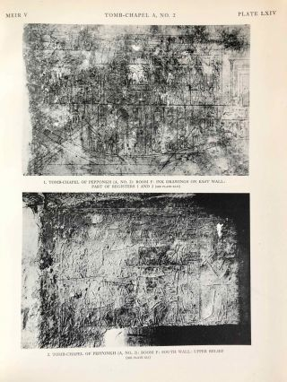 The rock tombs of Meir. Part I-VI (complete set)[newline]M0154a-48.jpg