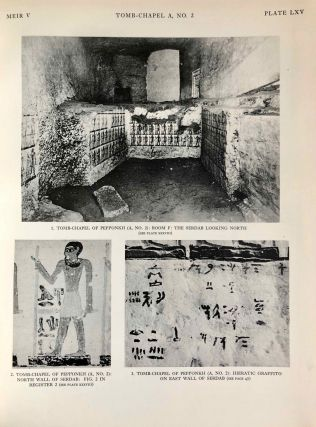 The rock tombs of Meir. Part I-VI (complete set)[newline]M0154a-49.jpg