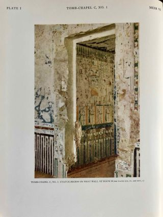 The rock tombs of Meir. Part I-VI (complete set)[newline]M0154a-52.jpg